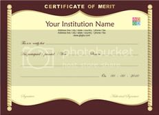 Certificate Template Free